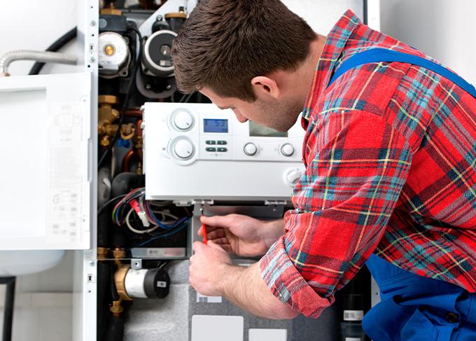 Repair hot water